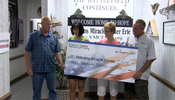 Golf Outing Proceeds Donated to Veterans Miracle Center