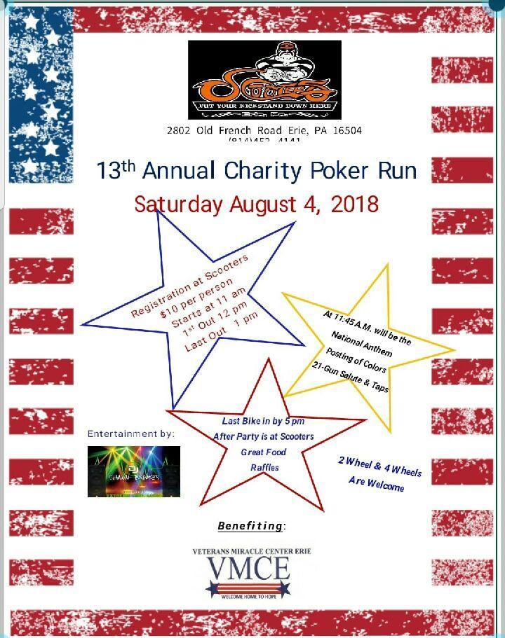 13th Annual Charity Poker Run