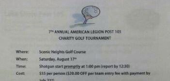 Lakeshore American Legion Charity Tournament