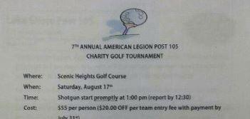 Lakeshore American Legion Charity Tournament
