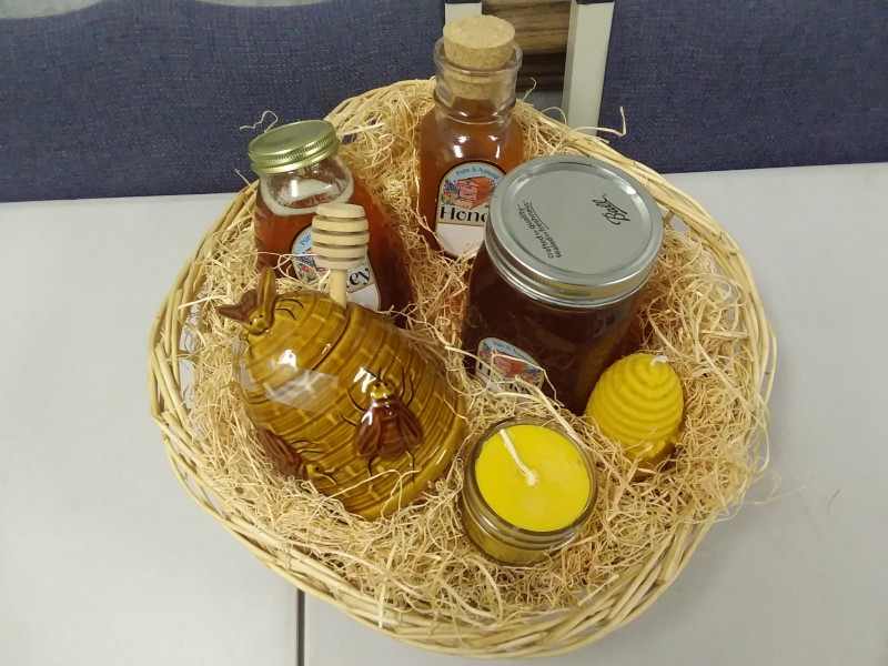 Basket of Honey Items
