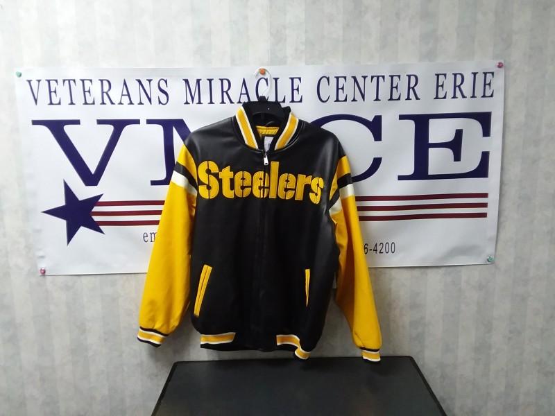Steeler's Leather Jacket