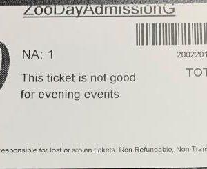 Erie Zoo Gift Cert