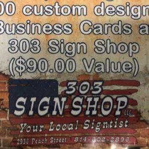 1,000 Custom Business Cards