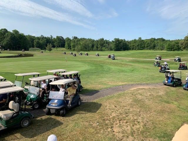 Bayfront Boys Invitational Golf Outing Awards Check To VMCE