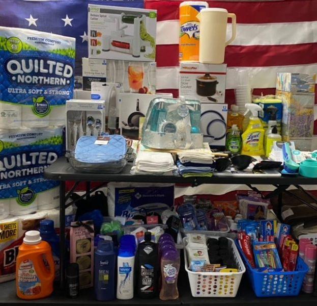 Erie Insurance Team Donates Goods To VMCE